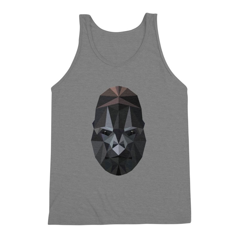 Gorilla Men's Triblend Tank by igloo's Shiny Things