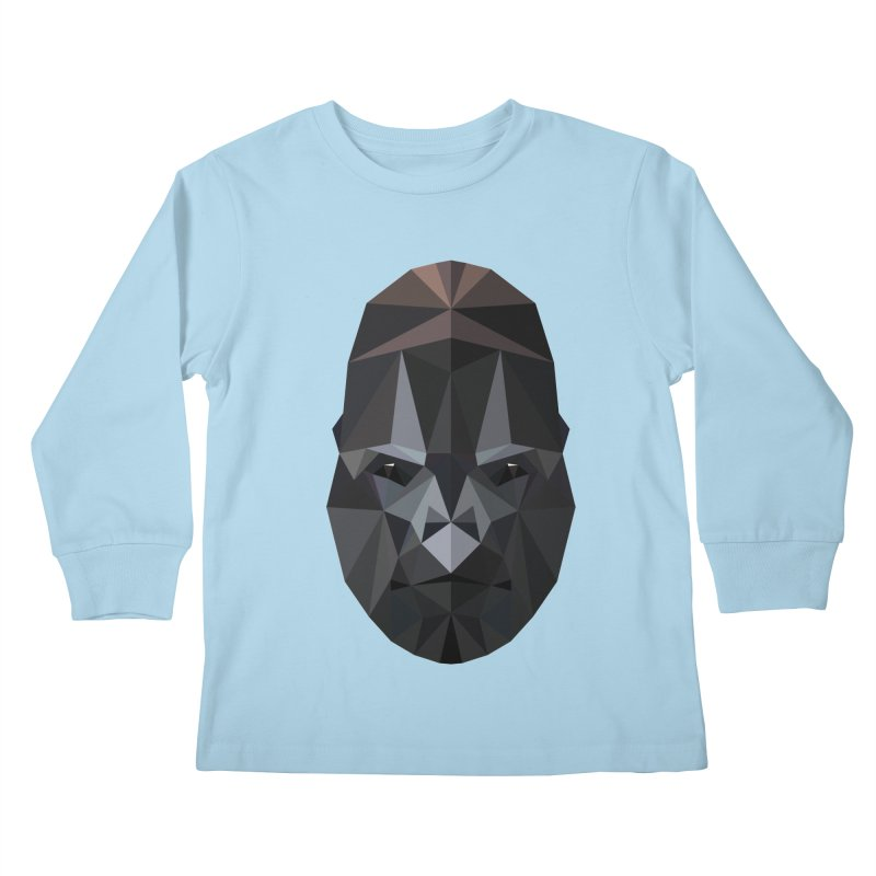 Gorilla Kids Longsleeve T-Shirt by igloo's Shiny Things