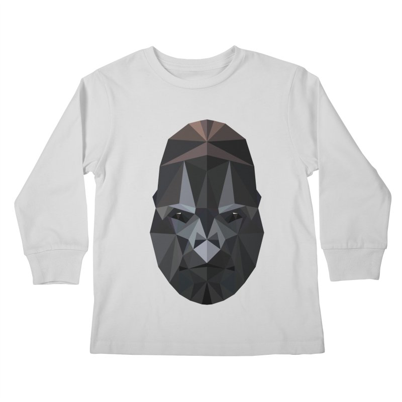 Gorilla Kids Longsleeve T-Shirt by igloo's Shiny Things