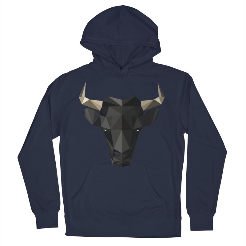 Bull Men's Pullover Hoody by igloo's Shiny Things