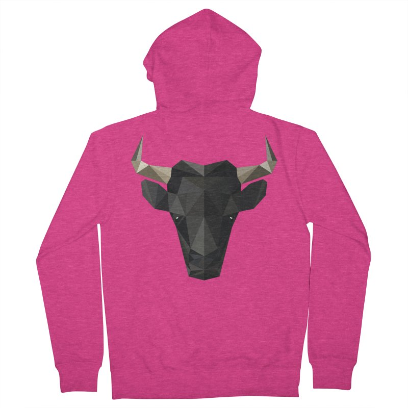Bull Women's Zip-Up Hoody by igloo's Shiny Things