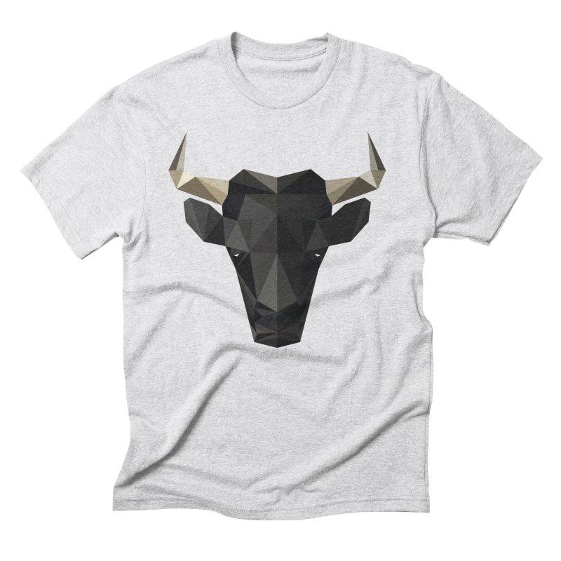 Bull Men's Triblend T-Shirt by igloo's Shiny Things