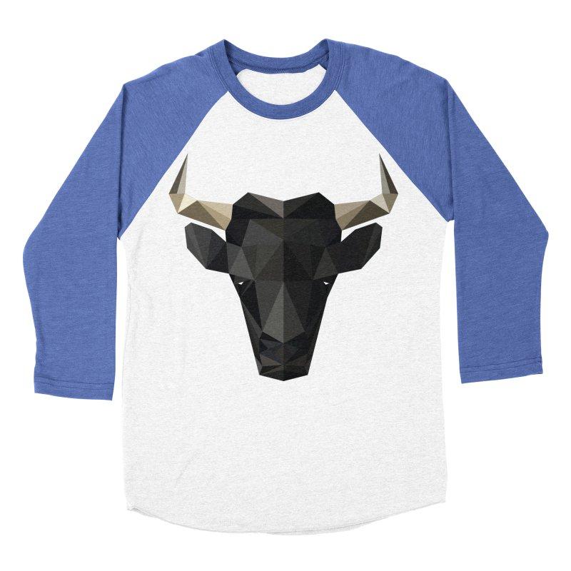 Bull Women's Baseball Triblend T-Shirt by igloo's Shiny Things