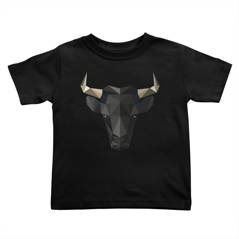 Bull Kids Toddler T-Shirt by igloo's Shiny Things