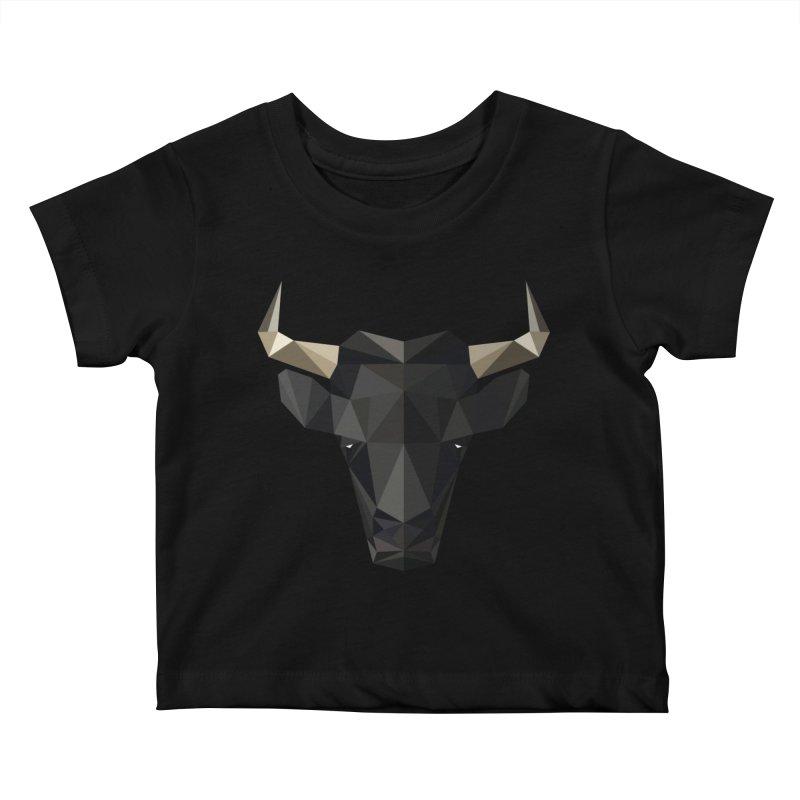 Bull Kids Baby T-Shirt by igloo's Shiny Things