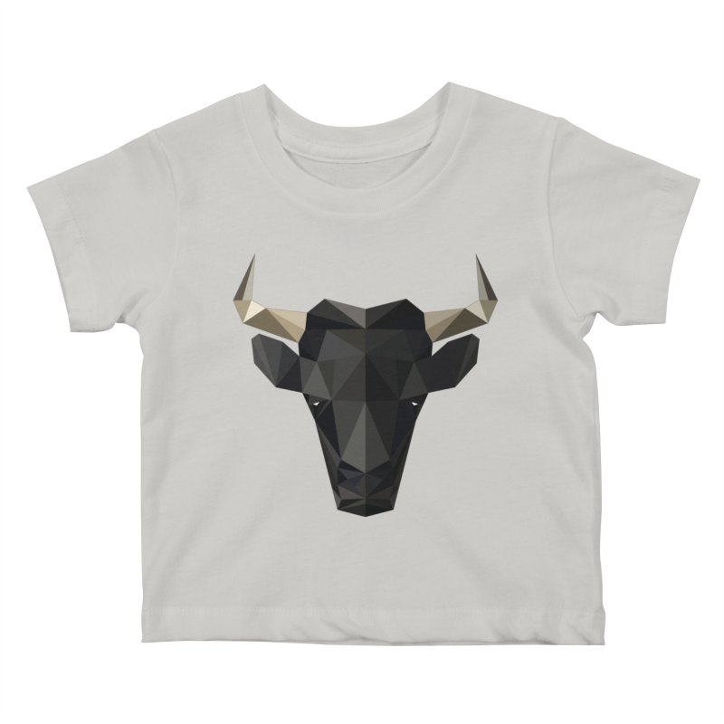 Bull Kids Baby T-Shirt by igloo's Shiny Things