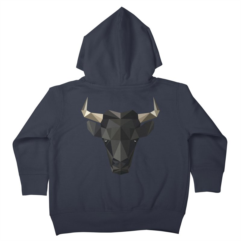 Bull Kids Toddler Zip-Up Hoody by igloo's Shiny Things