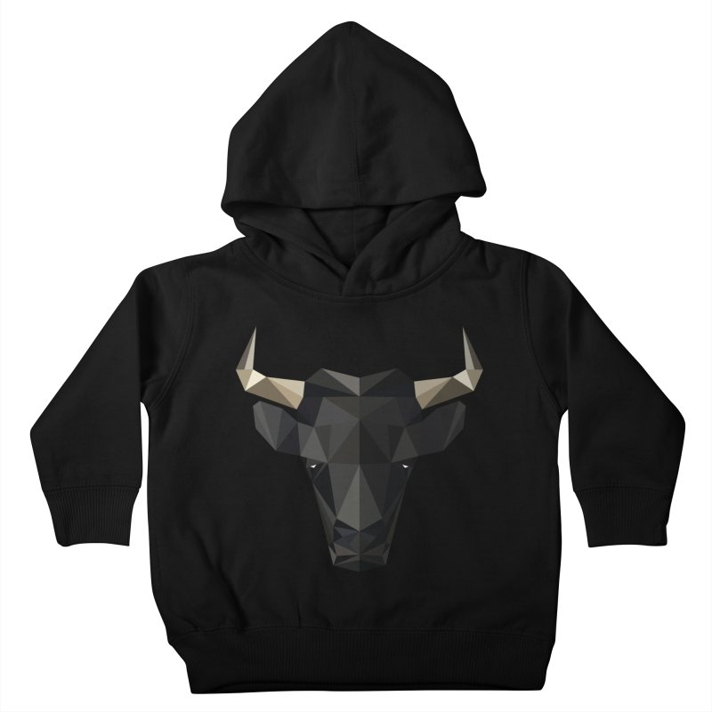 Bull Kids Toddler Pullover Hoody by igloo's Shiny Things