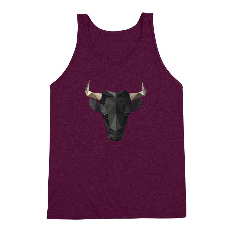 Bull Men's Triblend Tank by igloo's Shiny Things