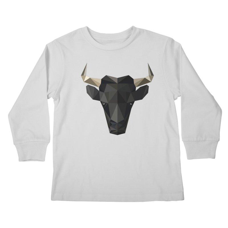 Bull Kids Longsleeve T-Shirt by igloo's Shiny Things