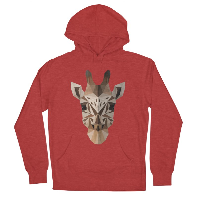 Giraffe Men's Pullover Hoody by igloo's Shiny Things