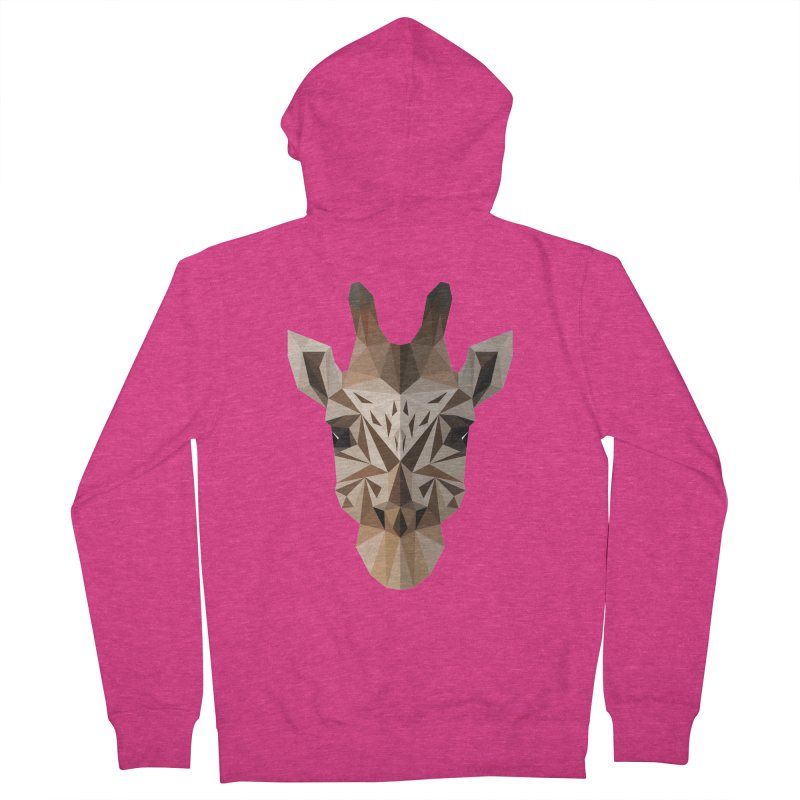 Giraffe Women's Zip-Up Hoody by igloo's Shiny Things