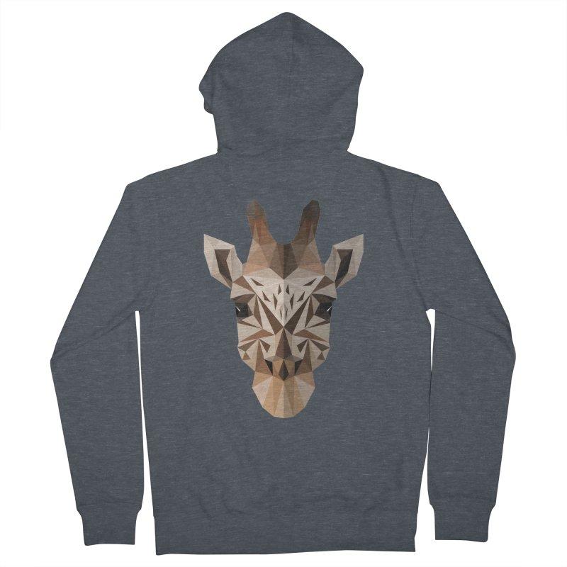 Giraffe Men's Zip-Up Hoody by igloo's Shiny Things
