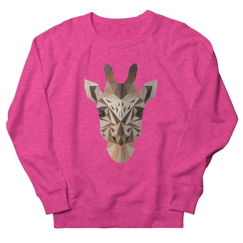 Giraffe Men's Sweatshirt by igloo's Shiny Things