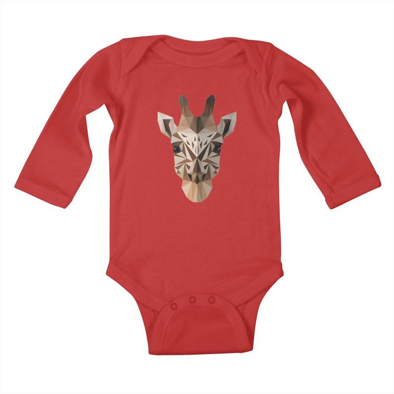 Giraffe Kids Baby Longsleeve Bodysuit by igloo's Shiny Things