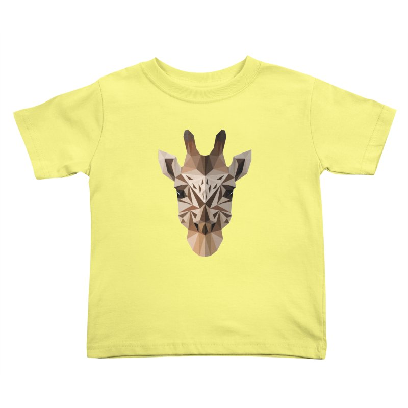 Giraffe Kids Toddler T-Shirt by igloo's Shiny Things