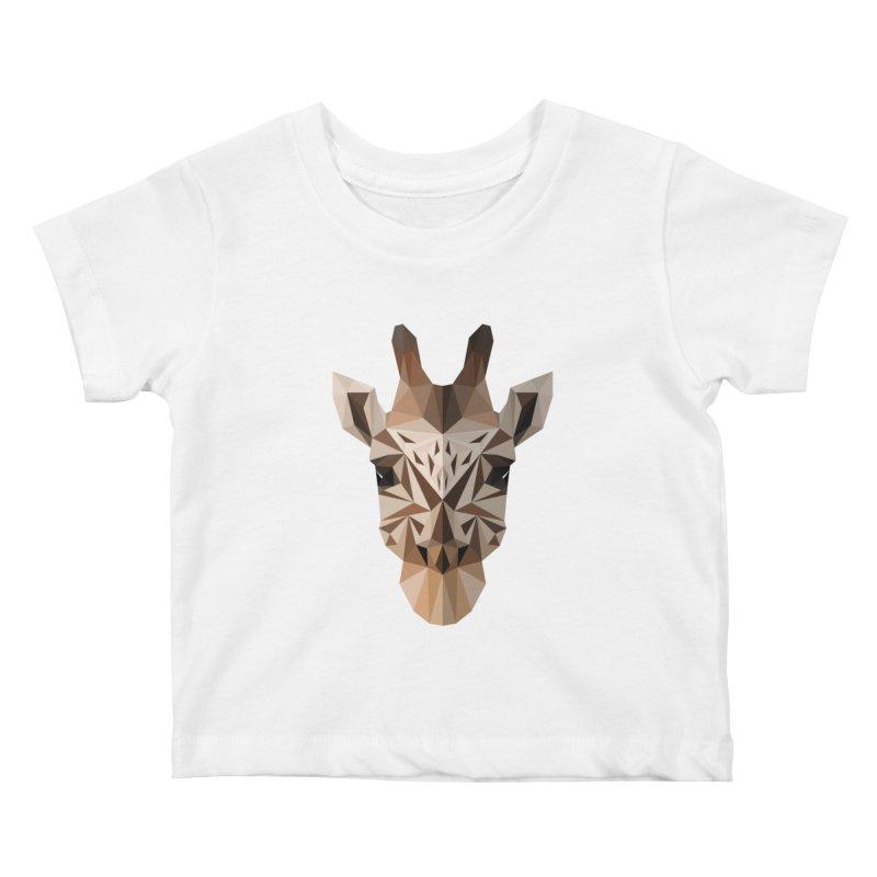 Giraffe Kids Baby T-Shirt by igloo's Shiny Things