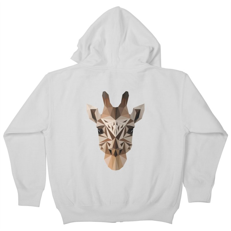 Giraffe Kids Zip-Up Hoody by igloo's Shiny Things
