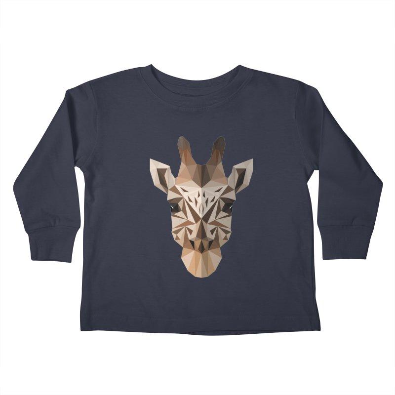 Giraffe Kids Toddler Longsleeve T-Shirt by igloo's Shiny Things
