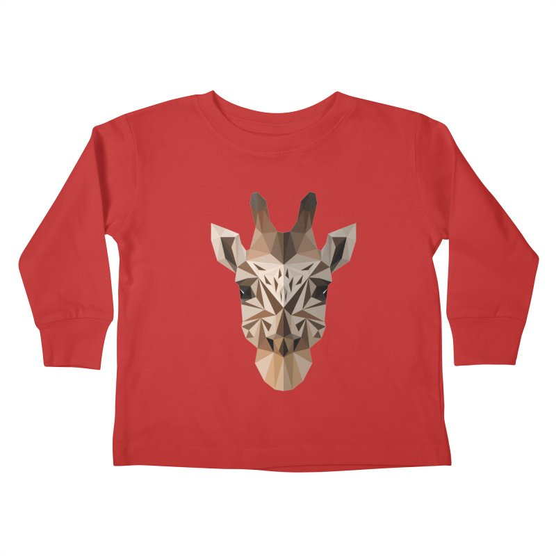 Giraffe Kids Toddler Longsleeve T-Shirt by igloo's Shiny Things