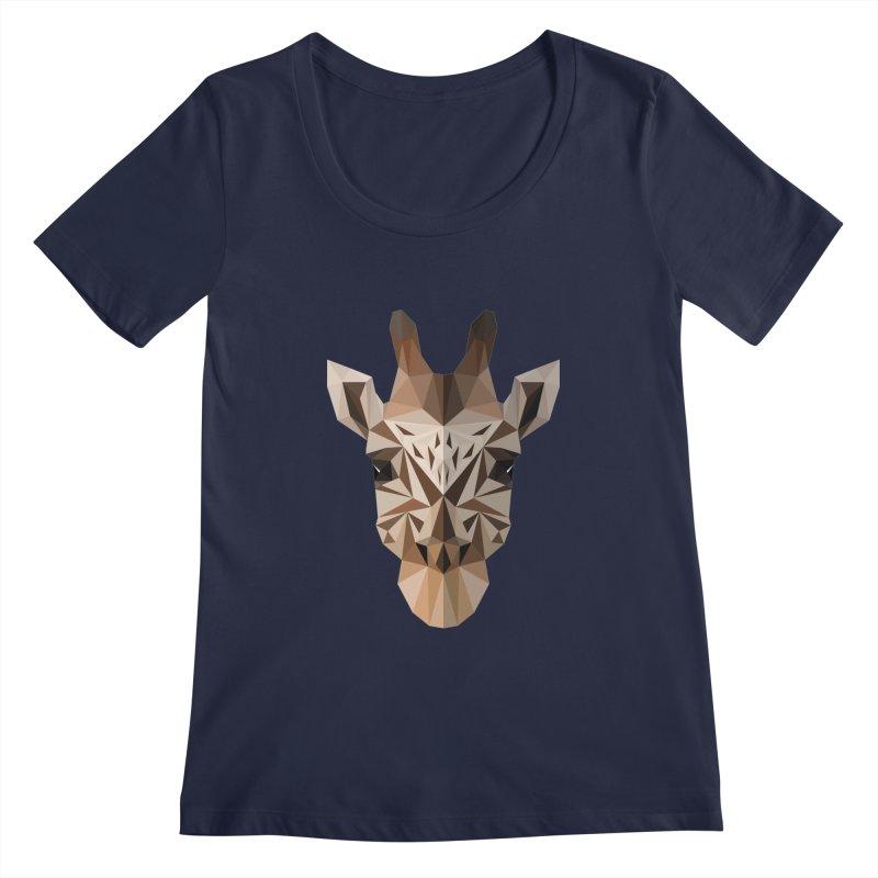 Giraffe Women's Scoopneck by igloo's Shiny Things