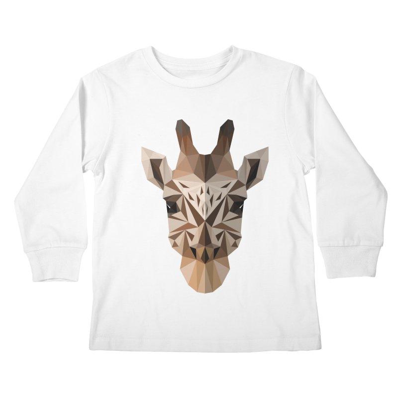 Giraffe Kids Longsleeve T-Shirt by igloo's Shiny Things