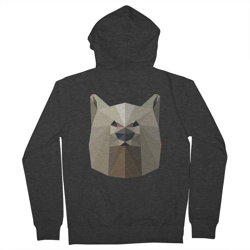 Bear Necessities Men's Zip-Up Hoody by igloo's Shiny Things