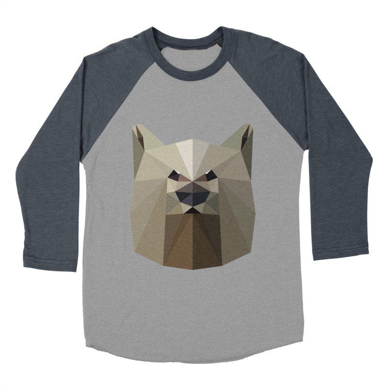 Bear Necessities Men's Baseball Triblend T-Shirt by igloo's Shiny Things