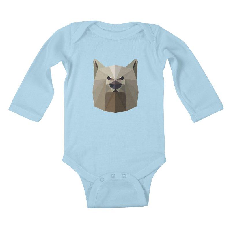 Bear Necessities Kids Baby Longsleeve Bodysuit by igloo's Shiny Things