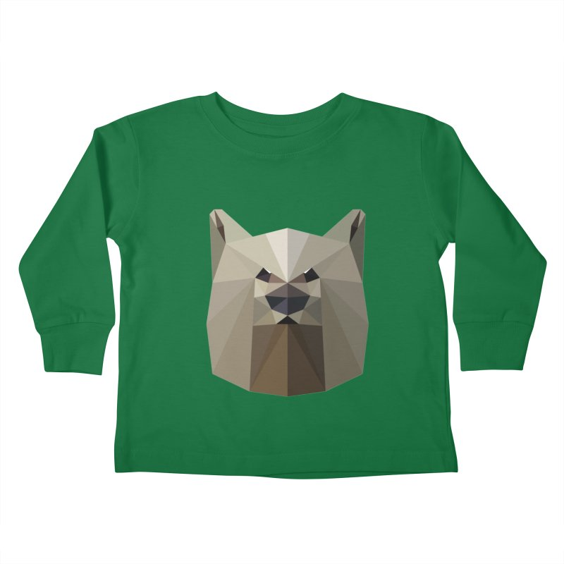 Bear Necessities Kids Toddler Longsleeve T-Shirt by igloo's Shiny Things