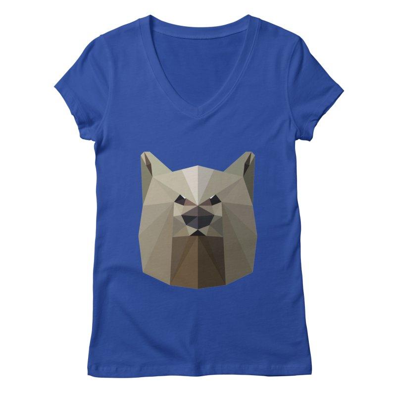 Bear Necessities Women's V-Neck by igloo's Shiny Things