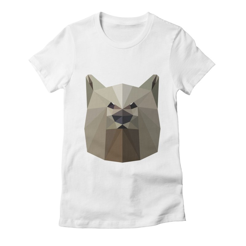 Bear Necessities Women's Fitted T-Shirt by igloo's Shiny Things