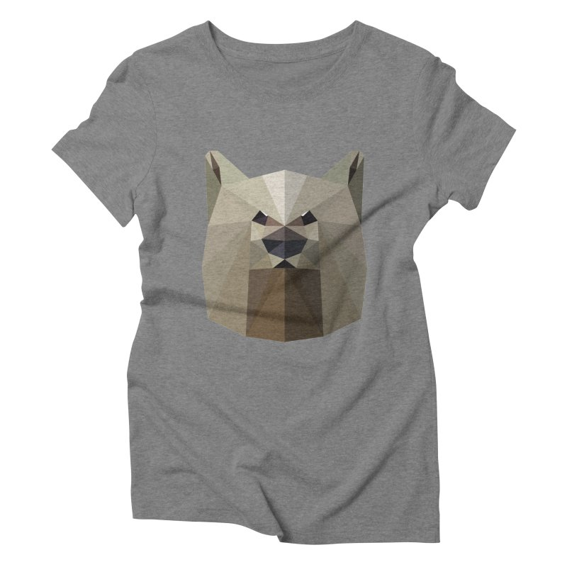 Bear Necessities Women's Triblend T-Shirt by igloo's Shiny Things
