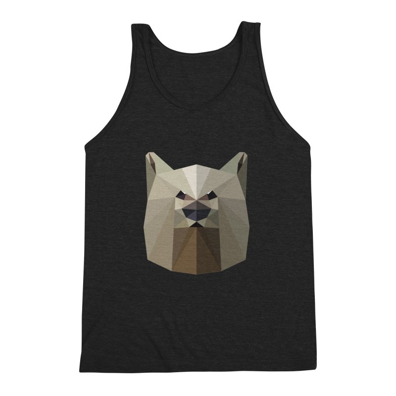 Bear Necessities Men's Triblend Tank by igloo's Shiny Things
