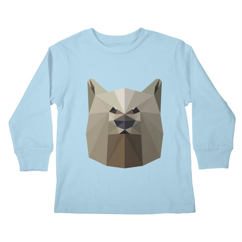 Bear Necessities Kids Longsleeve T-Shirt by igloo's Shiny Things