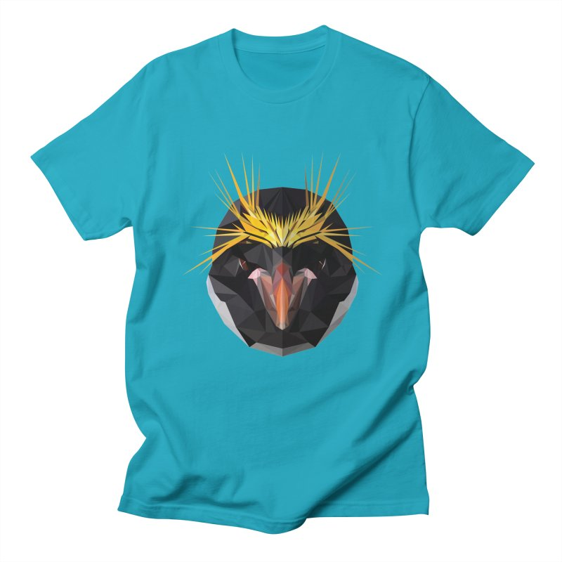 Unibrow Crown Champion Penguine Men's T-Shirt by igloo's Shiny Things