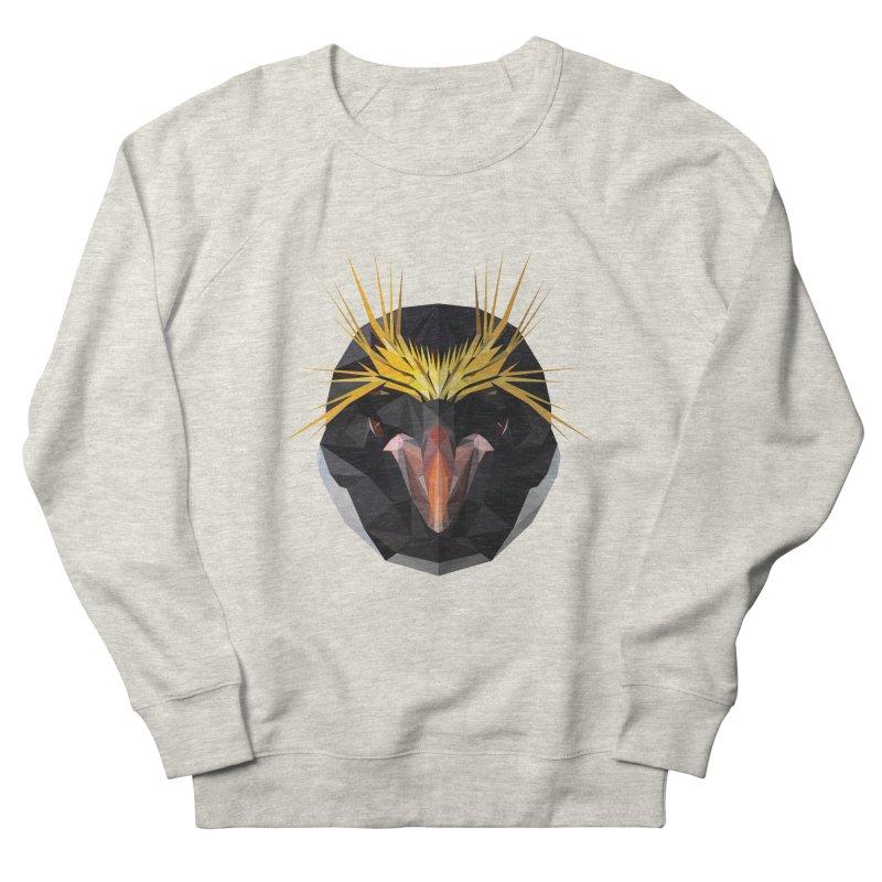 Unibrow Crown Champion Penguine Women's Sweatshirt by igloo's Shiny Things