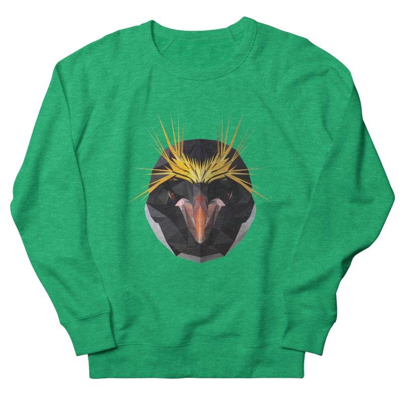 Unibrow Crown Champion Penguine Men's Sweatshirt by igloo's Shiny Things