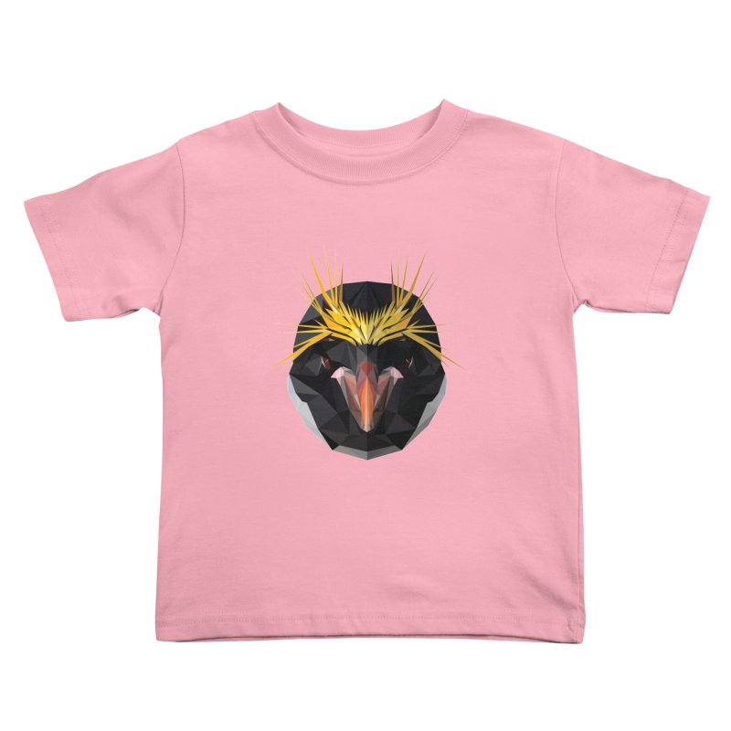 Unibrow Crown Champion Penguine Kids Toddler T-Shirt by igloo's Shiny Things