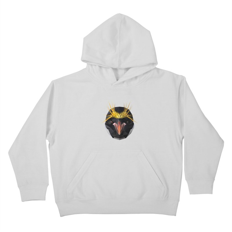 Unibrow Crown Champion Penguine Kids Pullover Hoody by igloo's Shiny Things