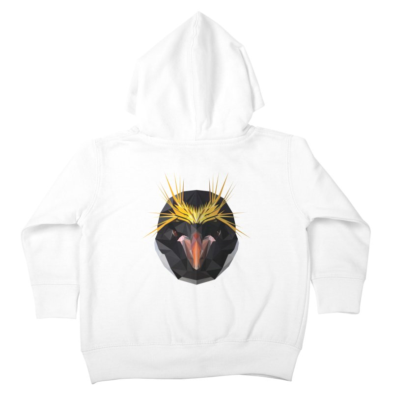 Unibrow Crown Champion Penguine Kids Toddler Zip-Up Hoody by igloo's Shiny Things