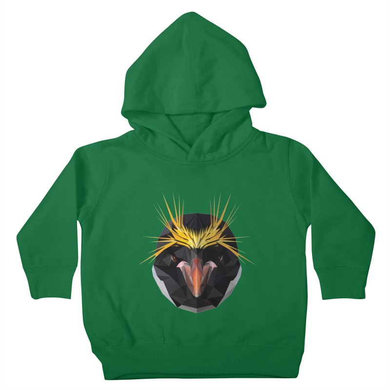 Unibrow Crown Champion Penguine Kids Toddler Pullover Hoody by igloo's Shiny Things