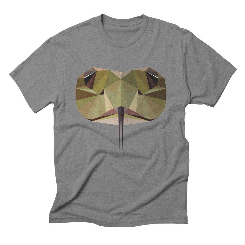 Snake Eyes Men's Triblend T-Shirt by igloo's Shiny Things
