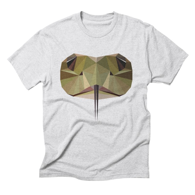 Snake Eyes Men's Triblend T-Shirt by igloo's Shiny Things