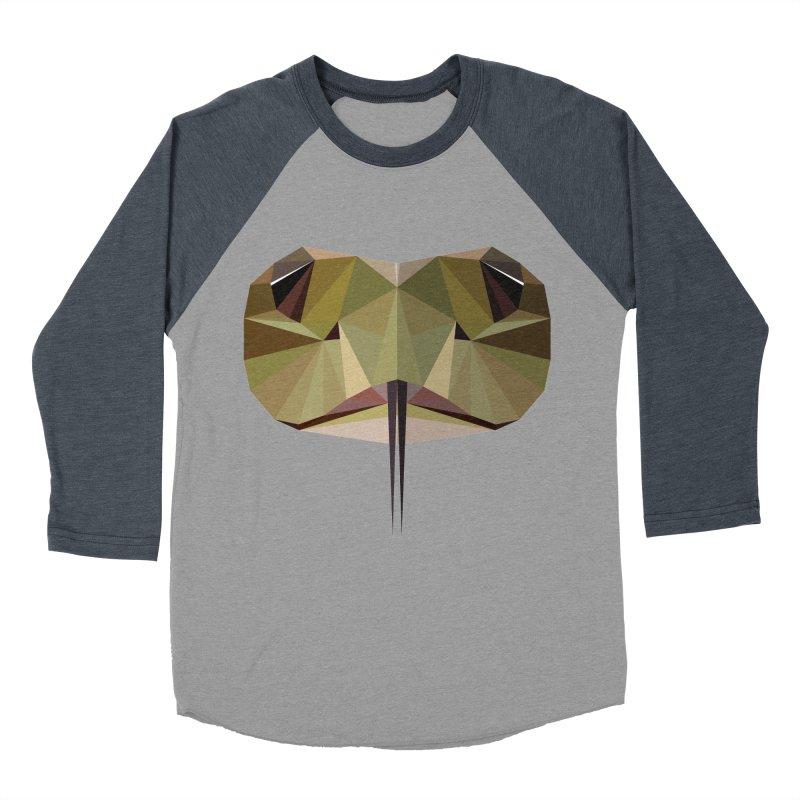 Snake Eyes Women's Baseball Triblend T-Shirt by igloo's Shiny Things
