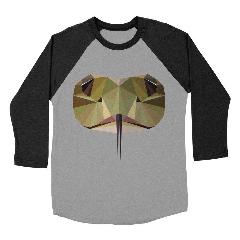 Snake Eyes Men's Baseball Triblend T-Shirt by igloo's Shiny Things