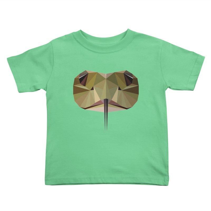 Snake Eyes Kids Toddler T-Shirt by igloo's Shiny Things