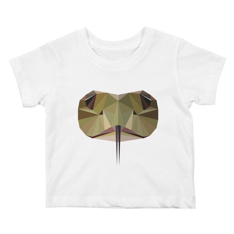 Snake Eyes Kids Baby T-Shirt by igloo's Shiny Things
