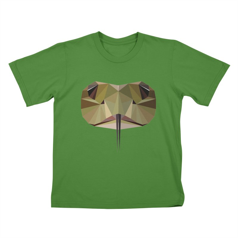 Snake Eyes Kids T-Shirt by igloo's Shiny Things