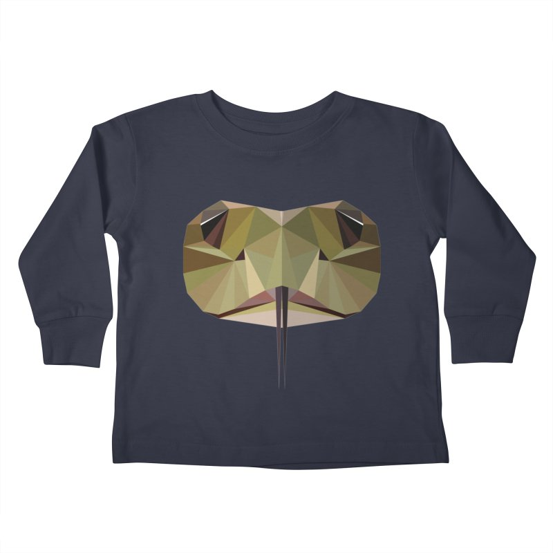 Snake Eyes Kids Toddler Longsleeve T-Shirt by igloo's Shiny Things